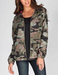 VOLCOM Enemy Lines Womens Jacket #camo