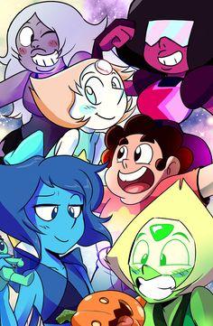 Steven Universe Characters, Steven Universe Movie, Universe Art, Steven Universe Wallpaper, Steven Universe Drawing, Cartoon Shows, Cartoon Art, Steven Universe Personajes, Cartoon Network Fanart