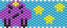 lumpy space princess bead pattern