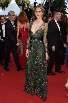 Poppy Delevingne en el Festival de Cannes 2015.