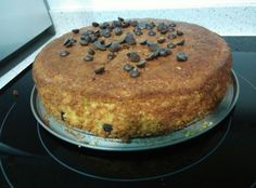 bizcocho de naranja con pepitas de chocolate para #Mycook http://www.mycook.es/receta/bizcocho-de-naranja-con-pepitas-de-chocolate/