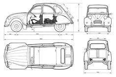 Blueprints de autos viejos y nuevos - Taringa!