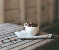 Recipe: Spiced Figs Cranberry Sauce - Kinfolk