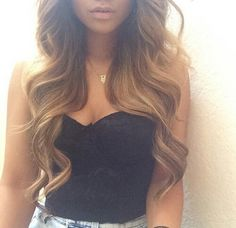 Gorgeous hair and super cute outfit My Hairstyle, Curled Hairstyles, Pretty Hairstyles, Formal Hairstyles, Love Hair, Gorgeous Hair, Dream Hair, Hair Day, Her Hair