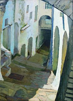Alley of Itri  (1970), Antonio Sicurezza, #art