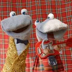 The Scottish Falsetto Sock Puppet Theatre - Chunky Woollen Nits #Children #Comedy