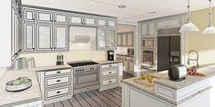 Küchenplanung - Schritt für Schritt von den eigenen Ideen zur neuen Traumküche