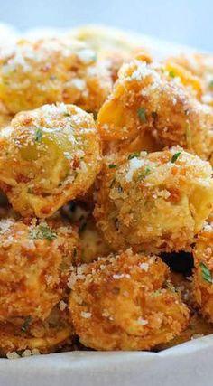 Parmesan Tortellini Bites