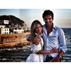 """""""Happy Anniversary my love @johanneshuebl. Eight wonderful years #ischia """""""