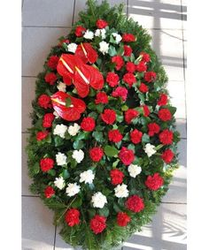 Funeral Bouquet, Christmas Wreaths, Floral Wreath, Holiday Decor, Floral Crown, Flower Crowns, Flower Band, Garland