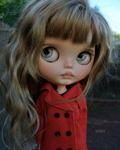 Chiara #suedolls #puppelinacustomeyechips #blythe #blytheooak