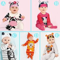 newborn baby boy girl clothes cute animal rompers one pieces with hat baby unisex romper Infant Long Sleeve Jumpsuits http://s.click.aliexpress.com/e/Nzvrb2Z