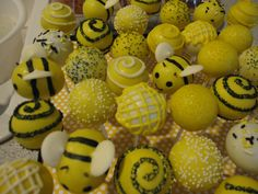 My Bee themed baby shower.  What will it bee????
