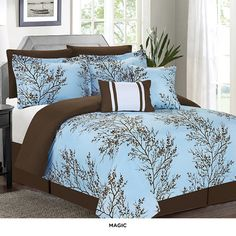 7-Piece Set: Printed Comforter Collection - Assorted Styles at 54% Savings off Retail!