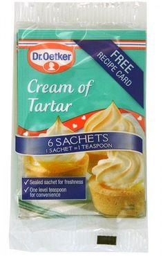 Dr. Oetker Cream of Tartar 6 x 5g Tütchen