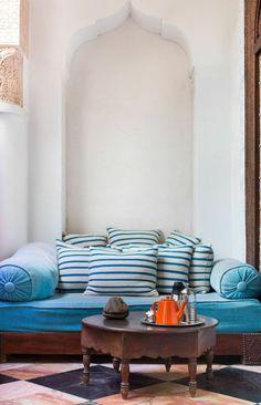 Riad El Fenn with Claire Zinnecker | Photography by Molly Winters | Rue
