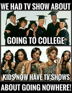 I wish they would make a show about 4 black girls who go to college have all go through their own problems but still find time to hang with each other and etc