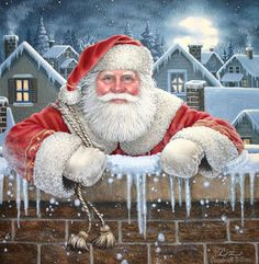 *Santa Claus by Elizabeth Goodrick-Dillon*