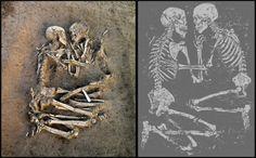 romantic.    <3 <3 Skeletons excavated at Pompeii <3 <3