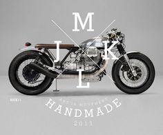 JMKL Moto Guzzi Concepts    This stunning custom Moto Guzzi concept is the work of JMKL, a Spanish graphic designer and lover of two wheeled transport.