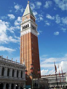 10 Things To Do in Venice · Kenton de Jong Travel-San Marco's Campanile http://kentondejong.com/blog/10-things-to-do-in-venice
