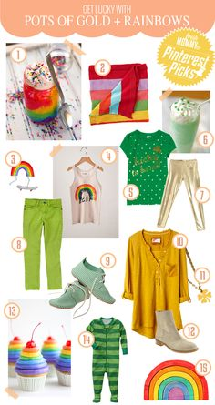 Pots of Gold and Rainbows for St Patricks Day - Fresh Mommy Blog