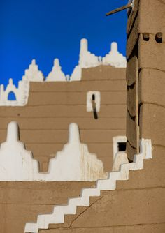 Najran fort, Saudi Arabia | Traditional Mud Najran Fort, Najran, Asir, Saudi Arabia © Eric Lafforgue