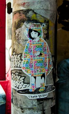 281_AntiNuke's antinuclear grafitti, Tokyo, Japan.