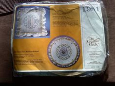 Creative Circle embroidery kit 1951 Sister is a by tjmccarty, $8.00