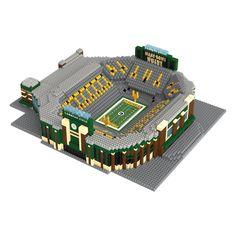 Lambeau Field NFL Green Bay Packers 3D BRXLZ Puzzle Stadium Blocks Set (PREORDER - SHIPS LATE APRIL)