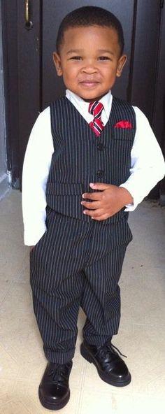 Little Man Swagg Beautiful Black Babies, Beautiful Children, Baby Boy Fashion, Kids Fashion, Cute Kids, Cute Babies, Baby Swag, Baby Kind, Fashion Moda