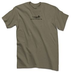 Gone Thiinking Canoe for Men Makes a Great Gift by FishFaceTshirts, $21.95