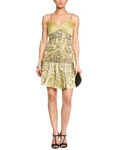 Sue Wong Pistachio Embellished Dress is on Rue. Shop it now.
