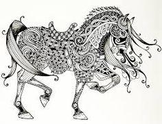 Résultats Google Recherche d'images correspondant à http://images.fineartamerica.com/images-medium-large-5/war-horse-zentangle-jani-freimann...