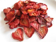 dried strawberries!