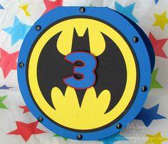 Cricut - Batman. Do a variation of this or any superhero for Brady 2013