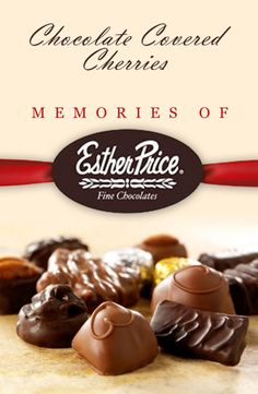 The Esther Price Story Discover the sweet backstory of one of Dayton's own hometown favorites! minutes or 15 minute programs) Speakers Bureau, Chocolate Covered Cherries, Sweet