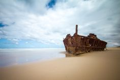 Fraser Islands Maheno Shipwreck by Christian Holzinger on Fraser Island, Shipwreck, Islands, Christian, Explore, Pictures, Outdoor, Photos, Outdoors