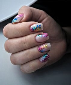 nails shape With 2020 spring coming, are you ready for a new manicure idea? Short nails have always been the most popular nail shape. We have collected 30 trend short nail art designs for Spring Nails, Summer Nails, Cute Nails, Pretty Nails, Hair And Nails, My Nails, Nail Selection, Nagellack Trends, Short Nails Art