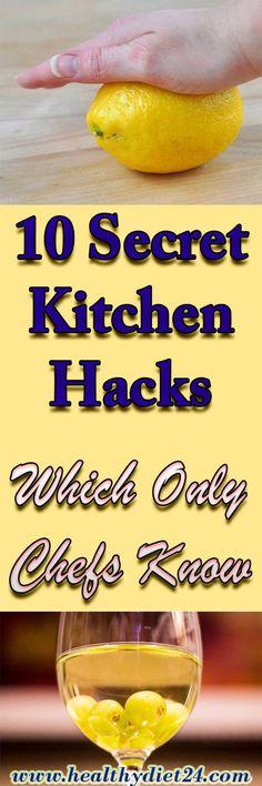 10 Secret Kitchen Hacks, Which Only Chefs Know – Healthy Tips 365 Health Remedies, Food Hacks, Baking Hacks, Milkshakes, Milkshake Recipes, Cooking Tips, Helpful Hints, Handy Tips, Natural Remedies