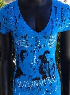 Supernatural Top DEAN SAM Winchester. I Want I want I want
