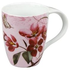 Konitz Cherry Blossom Mugs (Set of 4) - Overstock™ Shopping - Big Discounts on Konitz Mugs