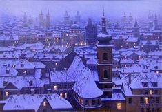 Alexei Butirskiy Limited Edition Giclee on Canvas