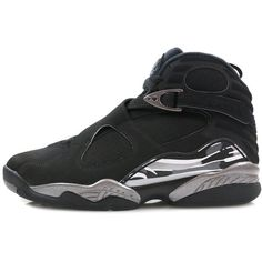Nike Air Jordan 8 Retro hanon-shop.com ($205) ❤ liked on Polyvore featuring accessories, sneakers and nike