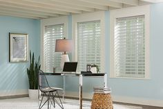 """Graber Blinds 2"""" Sheer Shades with Continuous-Loop Lift: Glessner Woven, Silver Mine 5182 and 3 1/2"""" Legacy Wood Valance: Snowflake 1603"""