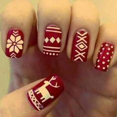 Christmas nails!  #chicperks - @Chic Perks- #webstagram