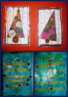sapins de Noël chez Ghislaine: tribune libre - école petite section