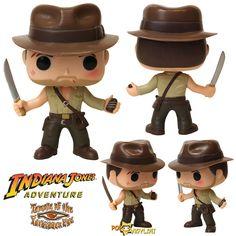 Indiana Jones POP http://popvinyl.net/news/indiana-jones-pop/