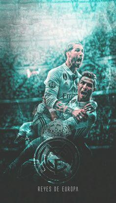 Ramos y Cristiano #RealMadrid