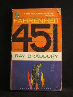 Vintage Bradbury from scifibooks.com, yours for $7.00.  Spread the word and help Save the SciFi.